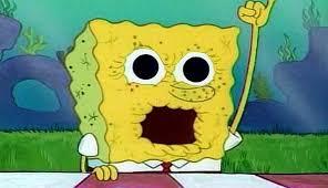 Image result for spongebob dried up
